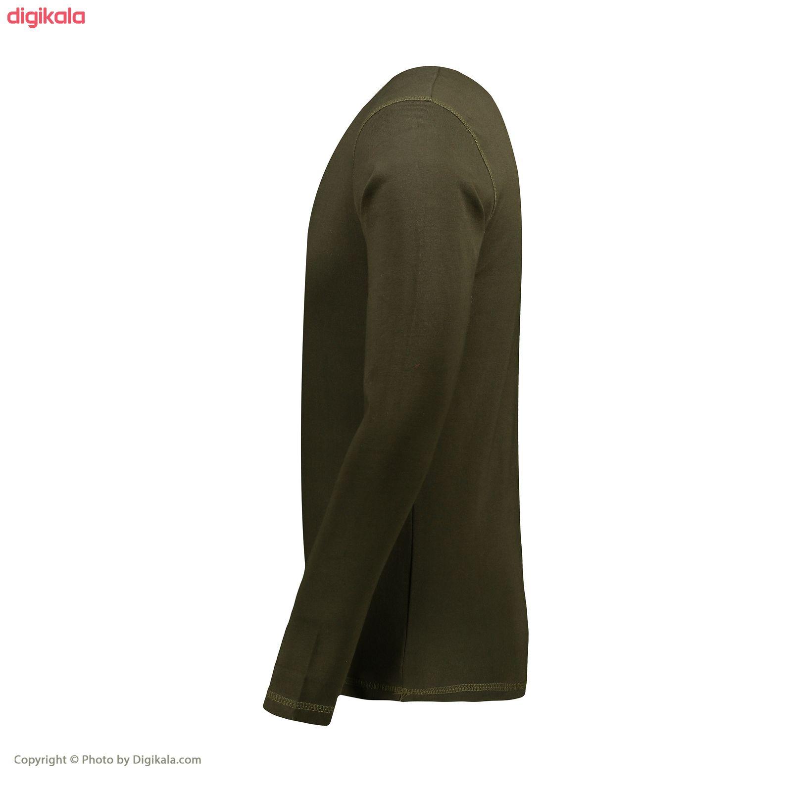 تیشرت آستین بلند مردانه پاتیلوک طرح رئال مادرید کد 330571 main 1 2