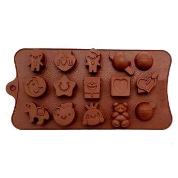 قالب شکلات کد15