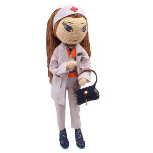 عروسک بافتنی پریا مدل Sara02