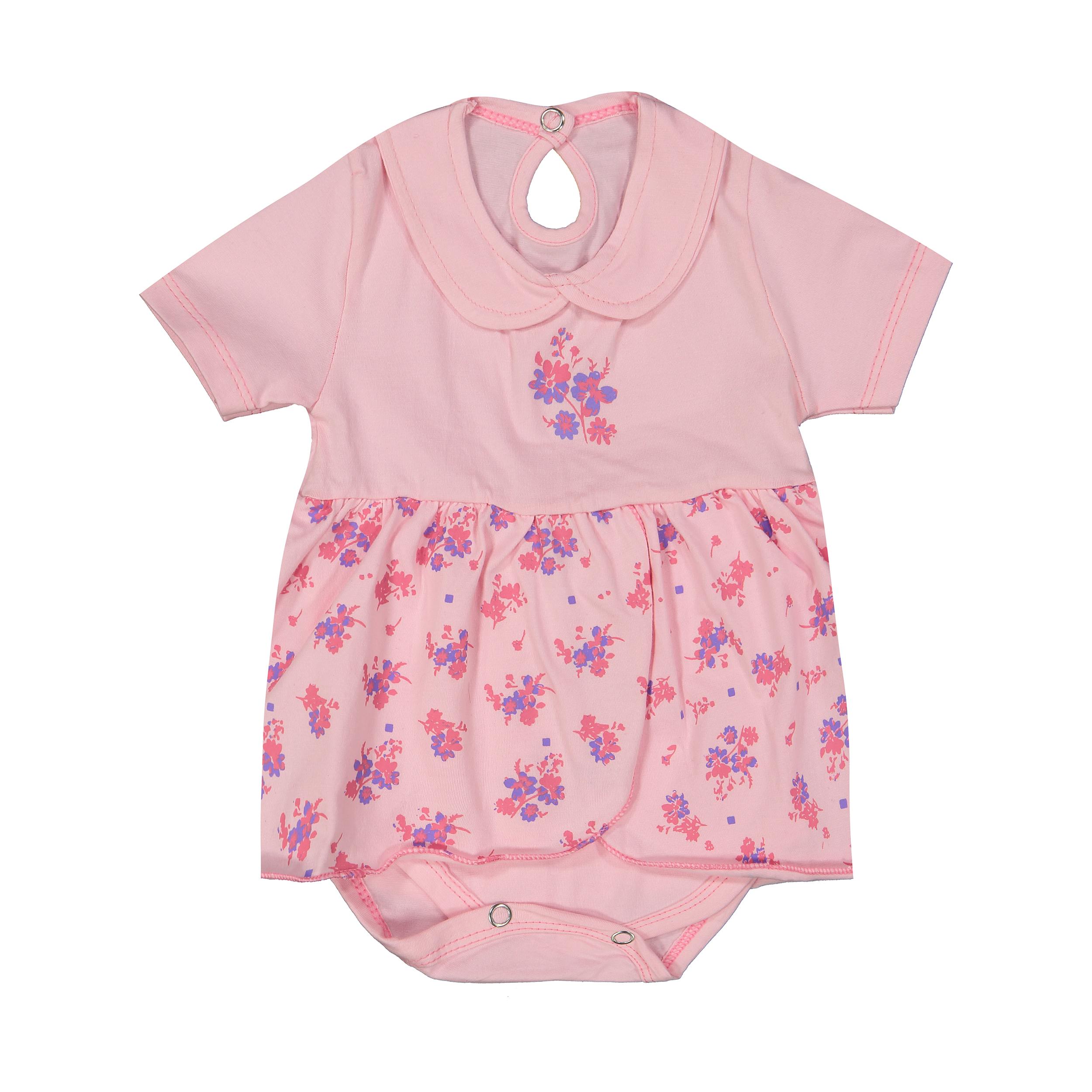 پیراهن نوزادی کد mv24