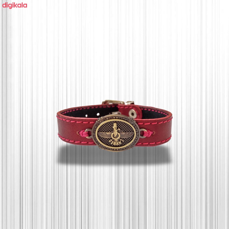 دستبند چرم وارک مدل پرهام کد rb38 main 1 18