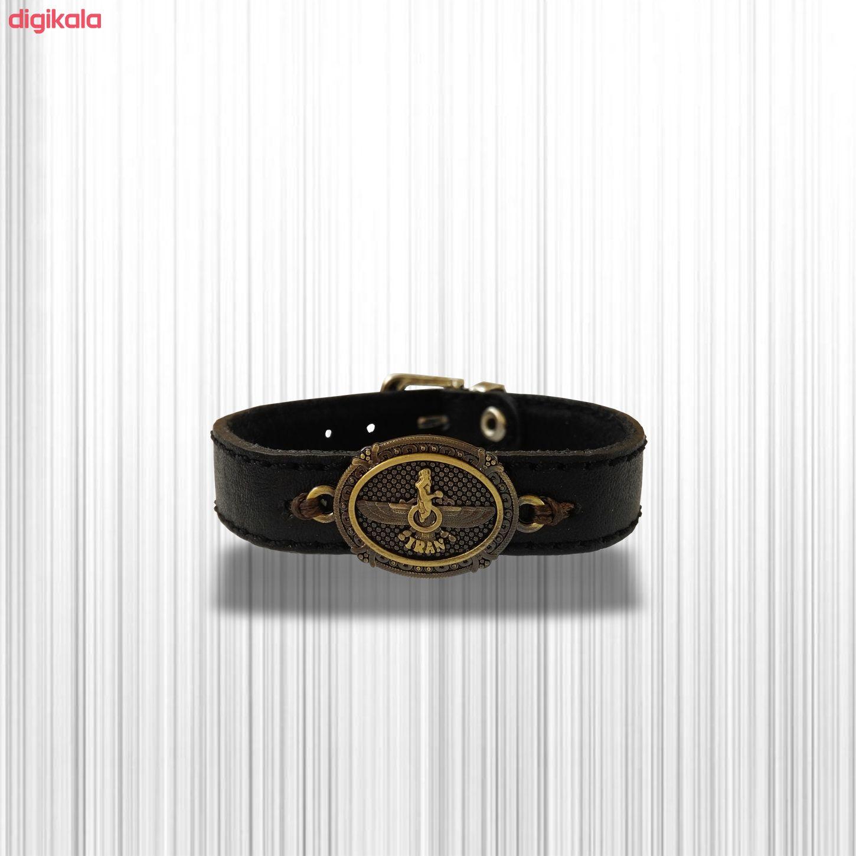 دستبند چرم وارک مدل پرهام کد rb38 main 1 19