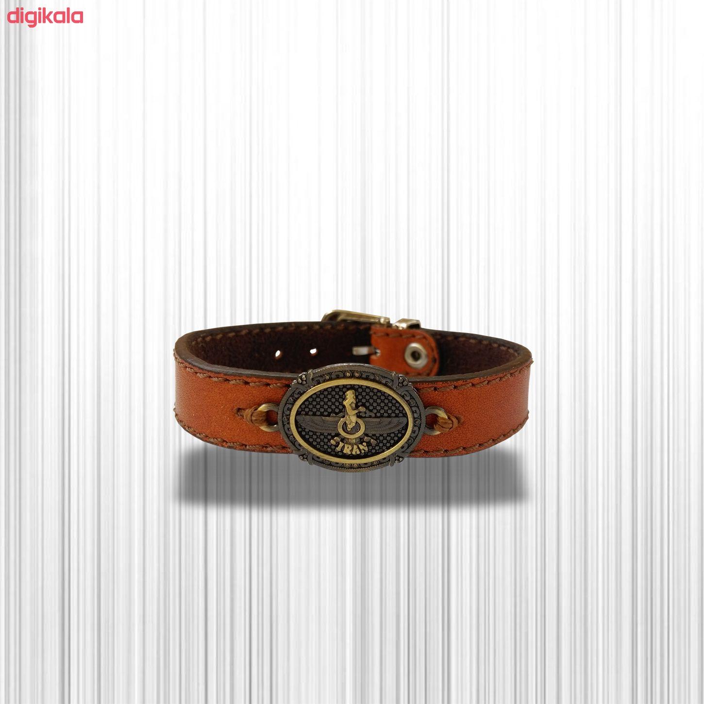 دستبند چرم وارک مدل پرهام کد rb38 main 1 20