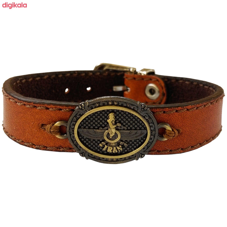 دستبند چرم وارک مدل پرهام کد rb38 main 1 4