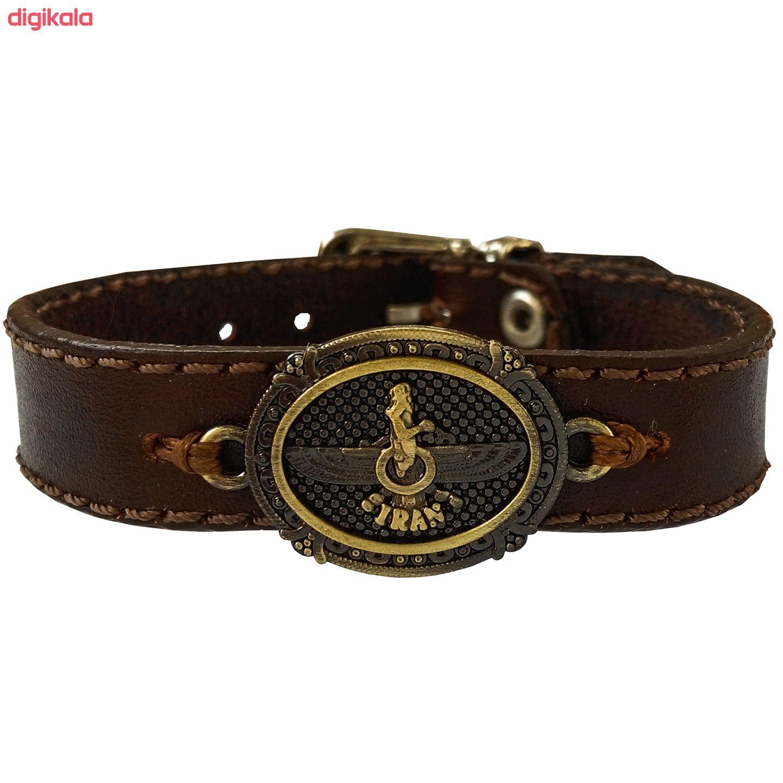 دستبند چرم وارک مدل پرهام کد rb38 main 1 1