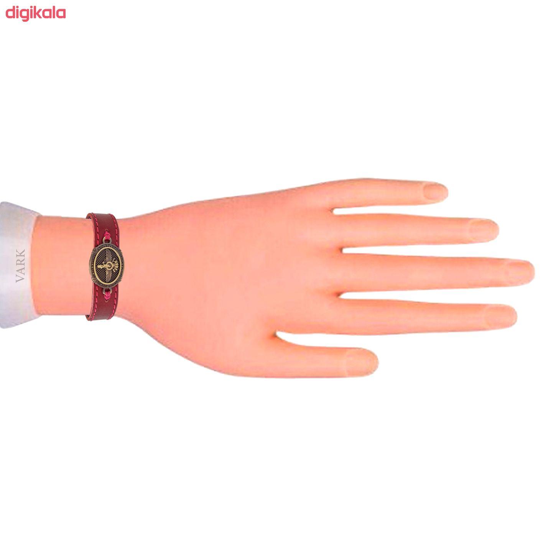دستبند چرم وارک مدل پرهام کد rb38 main 1 10