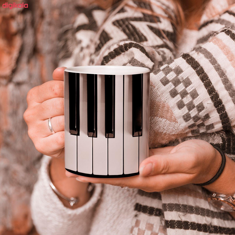 ماگ طرح پیانو مدل کلاویه main 1 1