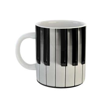 ماگ طرح پیانو مدل کلاویه