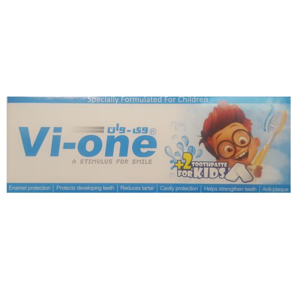 خرید                      خمیر دندان کودک وی وان مدل Chewing gum حجم 60 میلی لیتر