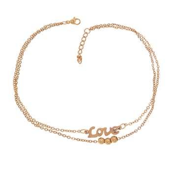 پابند زنانه طرح عشق کد PA1166