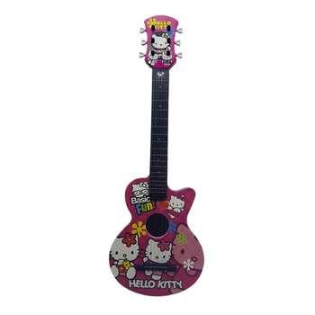 گیتار اسباب بازی مدل S90 طرح Hello Kitty