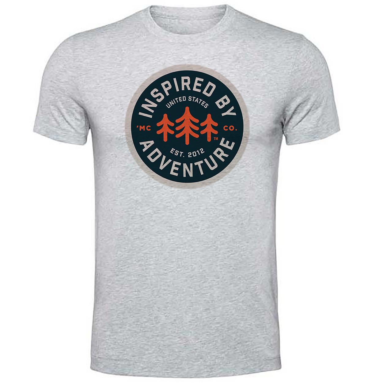 تی شرت مردانه   طرح کمپینگ   کد kamp33
