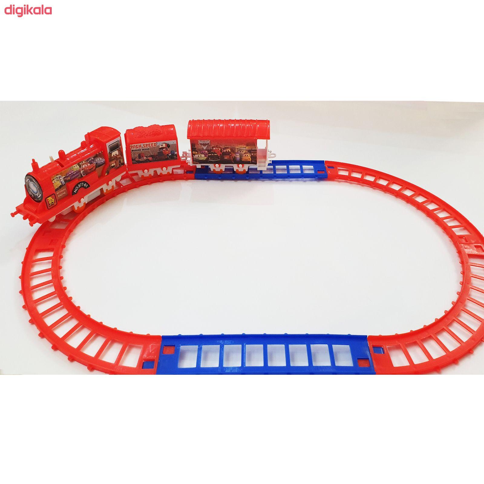 قطار بازی طرح مک کوئین کد T01