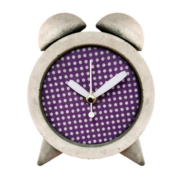 ساعت رومیزی بتنی مدل M-c03