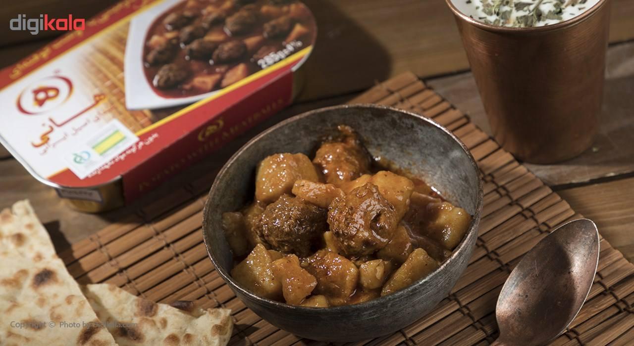 خوراک سیب زمینی با گوشت کوفته ای هانی مقدار 285 گرم main 1 4