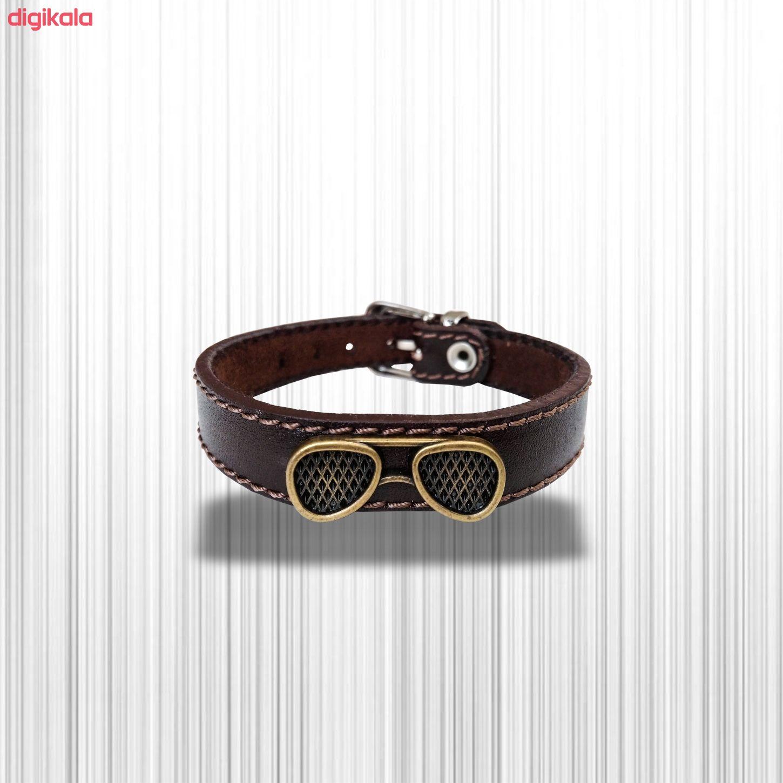 دستبند چرم وارک مدل پرهام کد rb36 main 1 17
