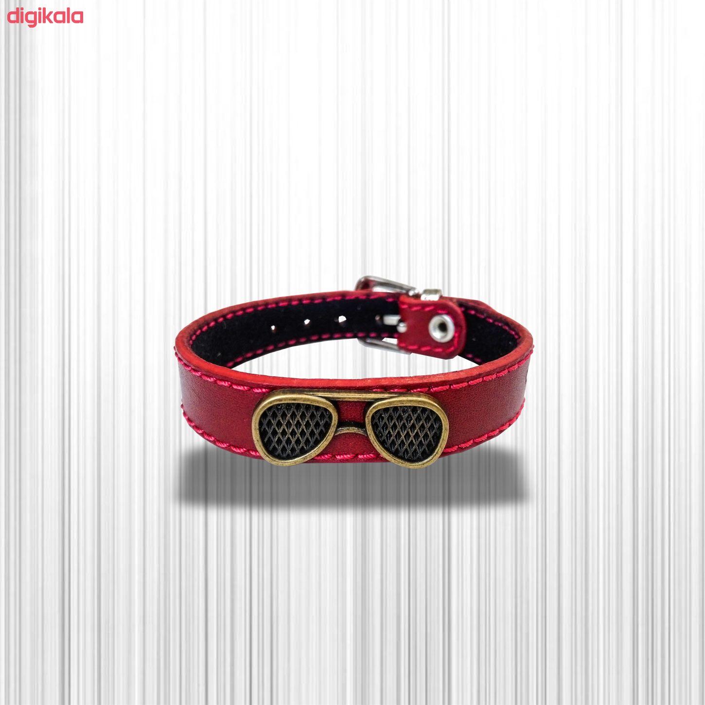 دستبند چرم وارک مدل پرهام کد rb36 main 1 18