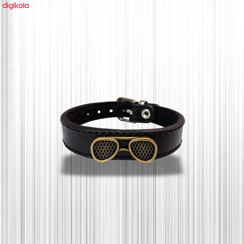 دستبند چرم وارک مدل پرهام کد rb36 main 1 19