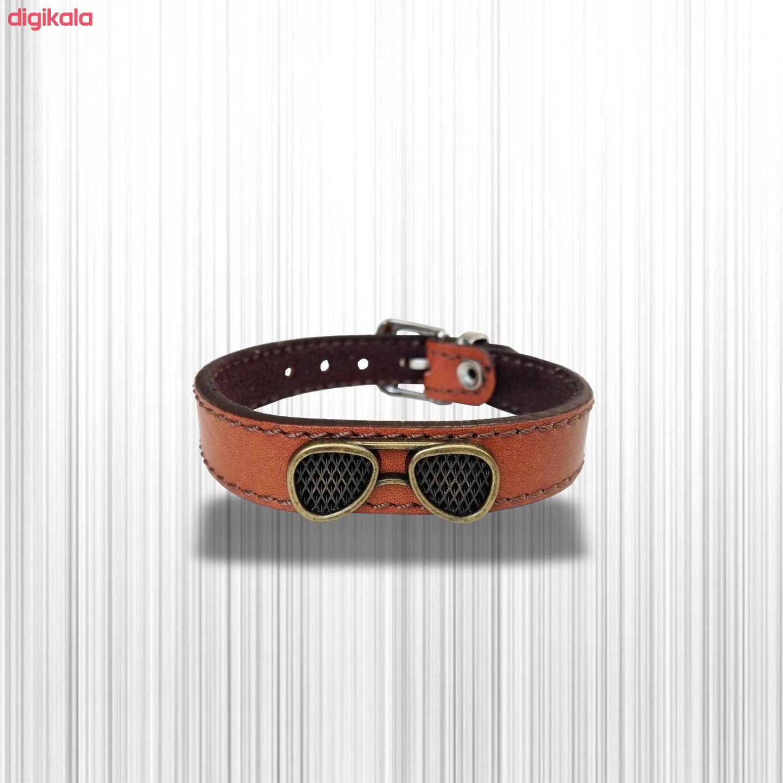 دستبند چرم وارک مدل پرهام کد rb36 main 1 20