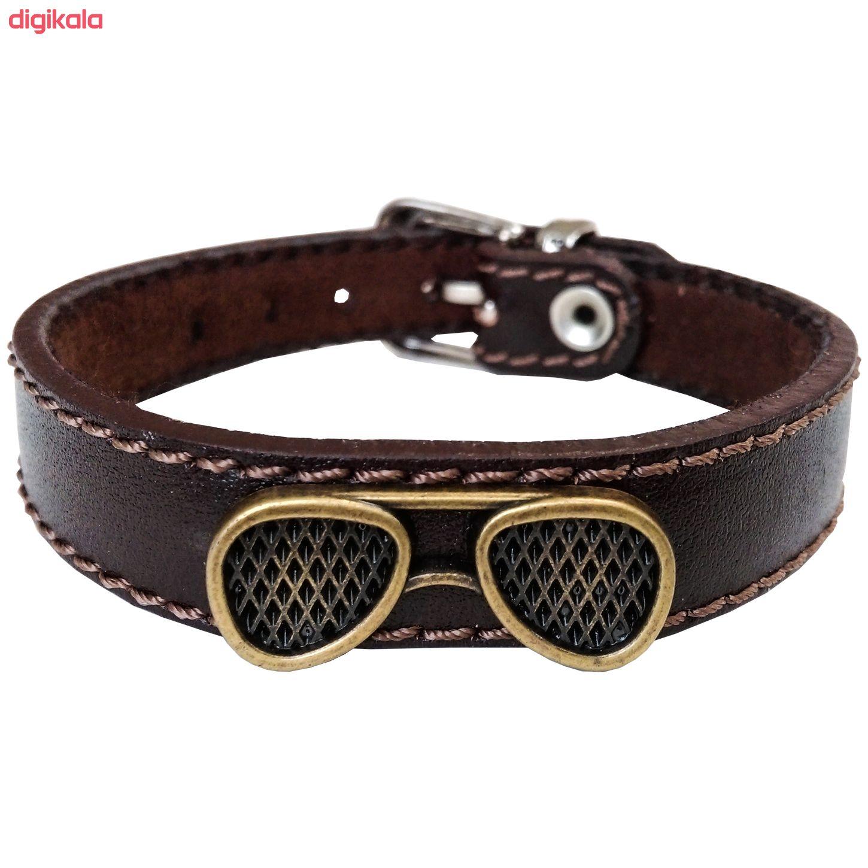دستبند چرم وارک مدل پرهام کد rb36 main 1 1