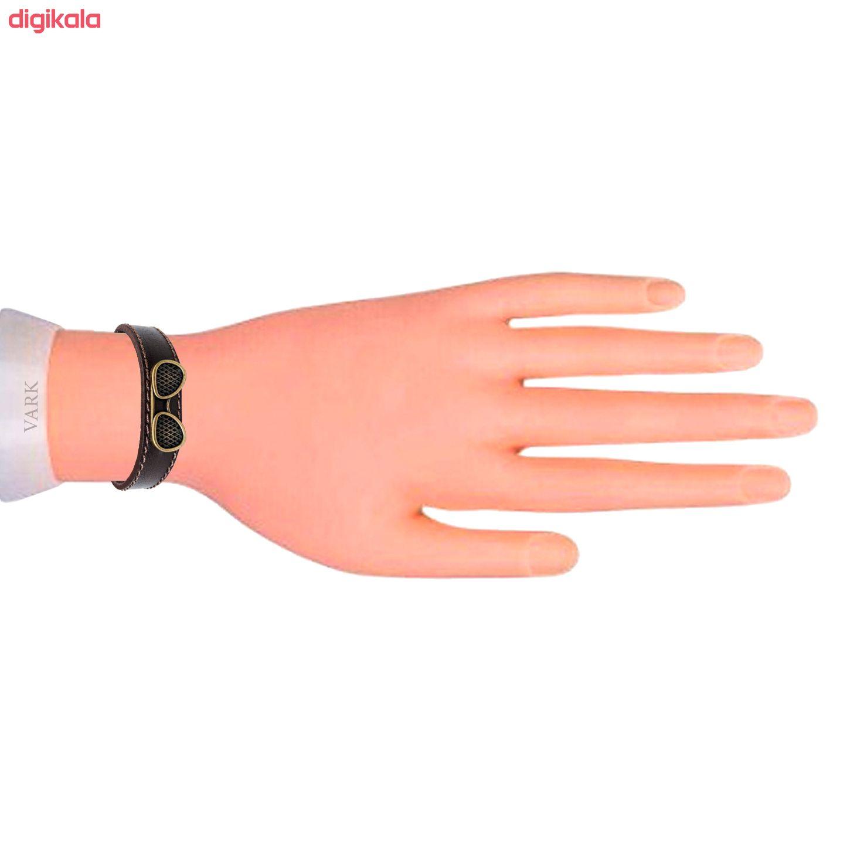 دستبند چرم وارک مدل پرهام کد rb36 main 1 9
