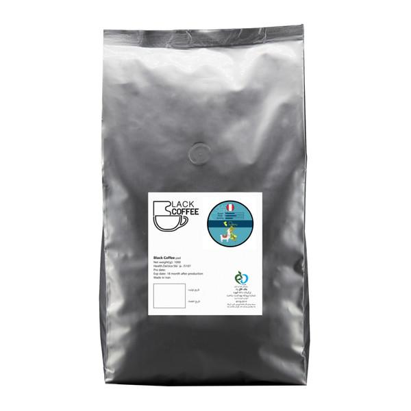 دانه قهوه پرو بلک کافی - 1000 گرم