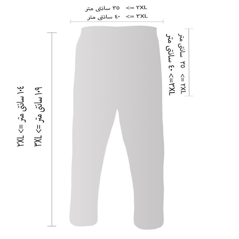 شلوار مردانه فتوحی کد TKR-30416