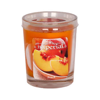شمع لیوانی ایمپریال مدل Peach