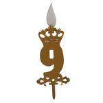 شمع تولد طرح عدد 9 thumb