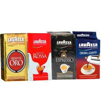 بسته قهوه لاواتزا مجموعه 4 عددی