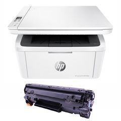 پرینتر چندکاره لیزری اچ پی مدل LaserJet Pro MFP M28w به همراه تونر