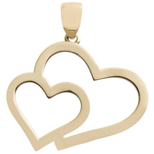 آویز گردنبند زنانه طرح قلب کد A46