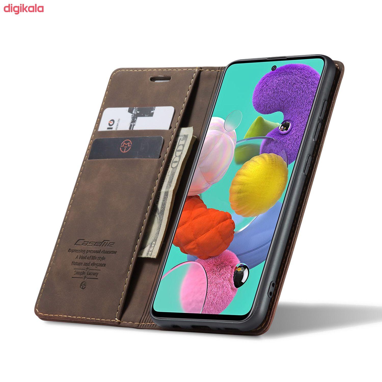 کیف کلاسوری کیس می مدلRetro مناسب برای گوشی موبایل سامسونگ Galaxy A51
