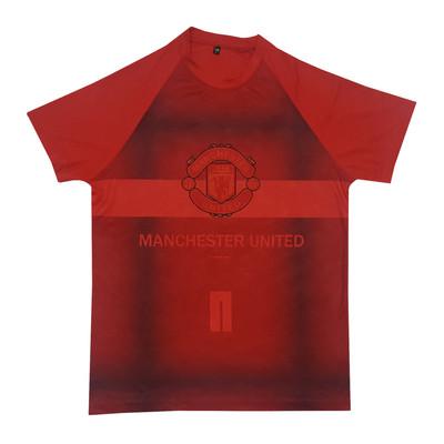 تصویر تیشرت ورزشی پسرانه طرح منچستر یونایتد کد 2019.20 رنگ قرمز
