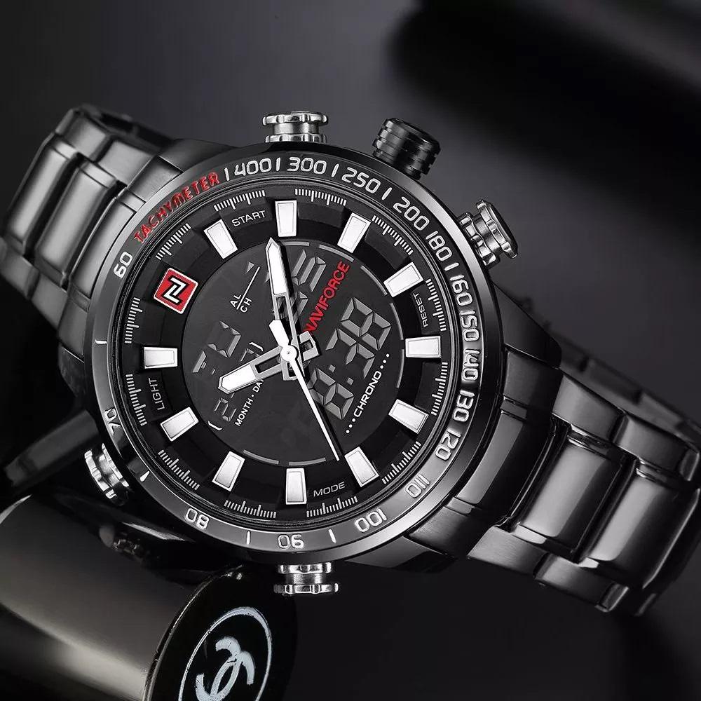 ساعت مردانه نیوی فورس مدل NF9093 BBW
