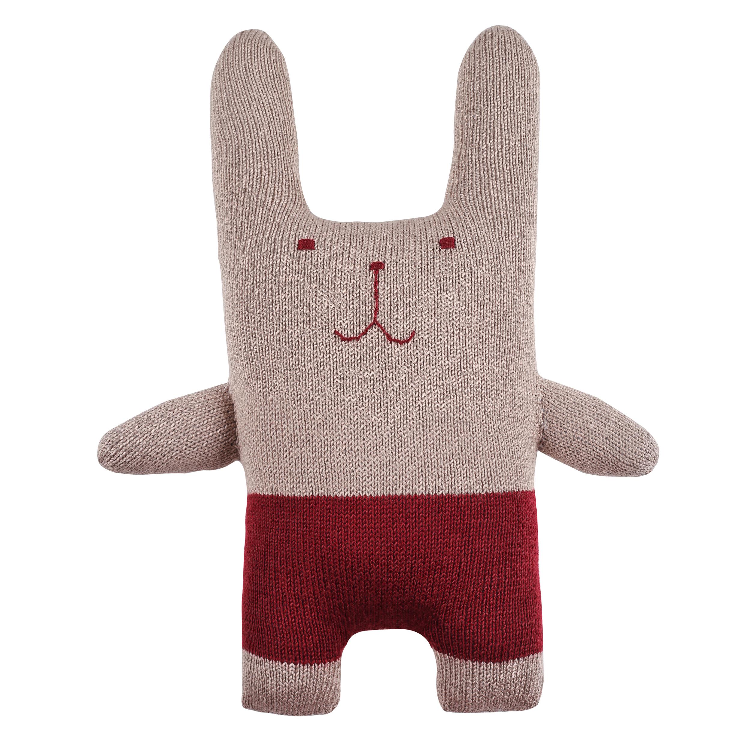 خرید                      عروسک بافتنی مدل Mr Rabbit