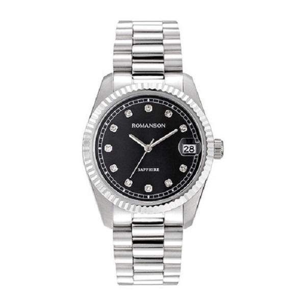 کد تخفیف                                      ساعت مچی عقربه ای مردانه  رومانسون کد TM6A28MMWWA3C2