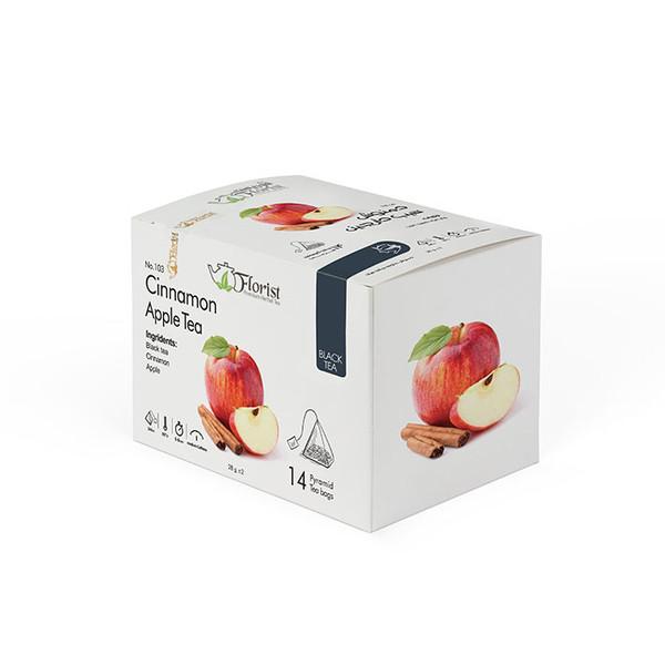 دمنوش سیب دارچین فلوریست 28 گرم