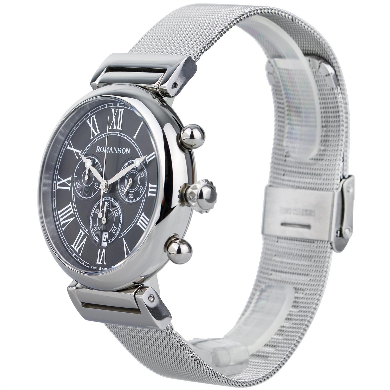 کد تخفیف                                      ساعت مچی عقربه ای مردانه رومانسون مدل TM7A08HMWWA3R5