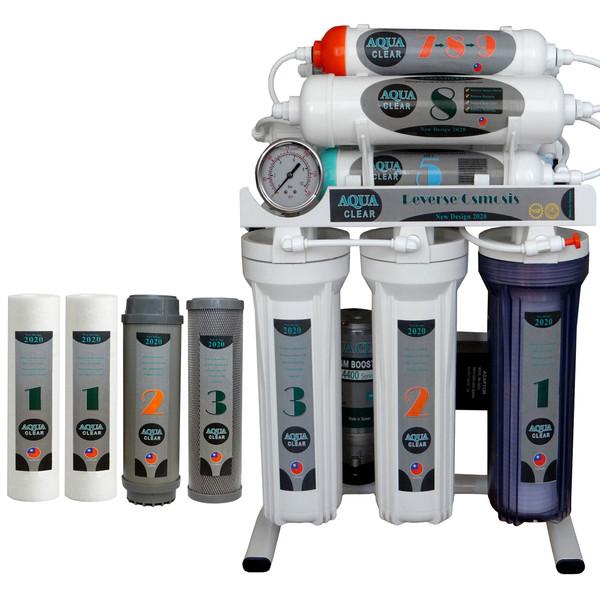 دستگاه تصفیه کننده آب آکوآکلیر مدل NEWDESIGN 2020 - AQN9 به همراه فیلتر مجموعه 4 عددی