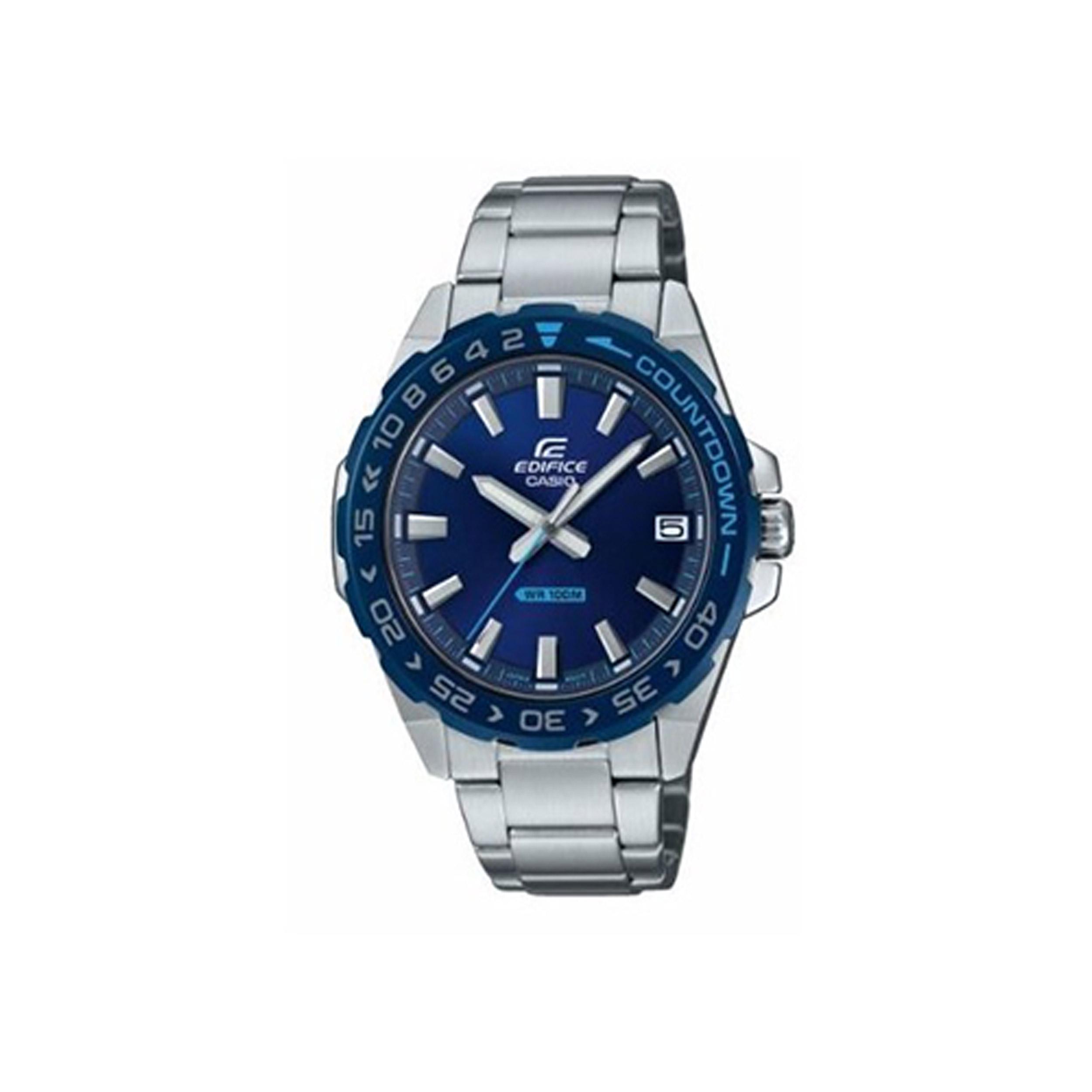 ساعت مچی عقربه ای مردانه کاسیو مدل EFV-120DB-2AVUDF              خرید (⭐️⭐️⭐️)