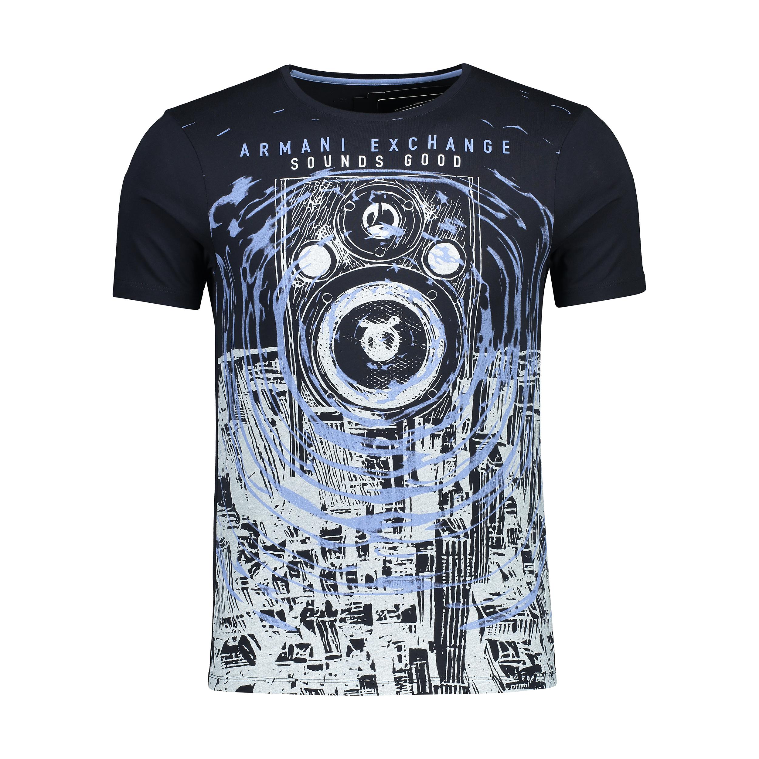 خرید ارزان تی شرت مردانه آرمانی اکسچنج مدل 3ZZTDSZJH4Z-1510