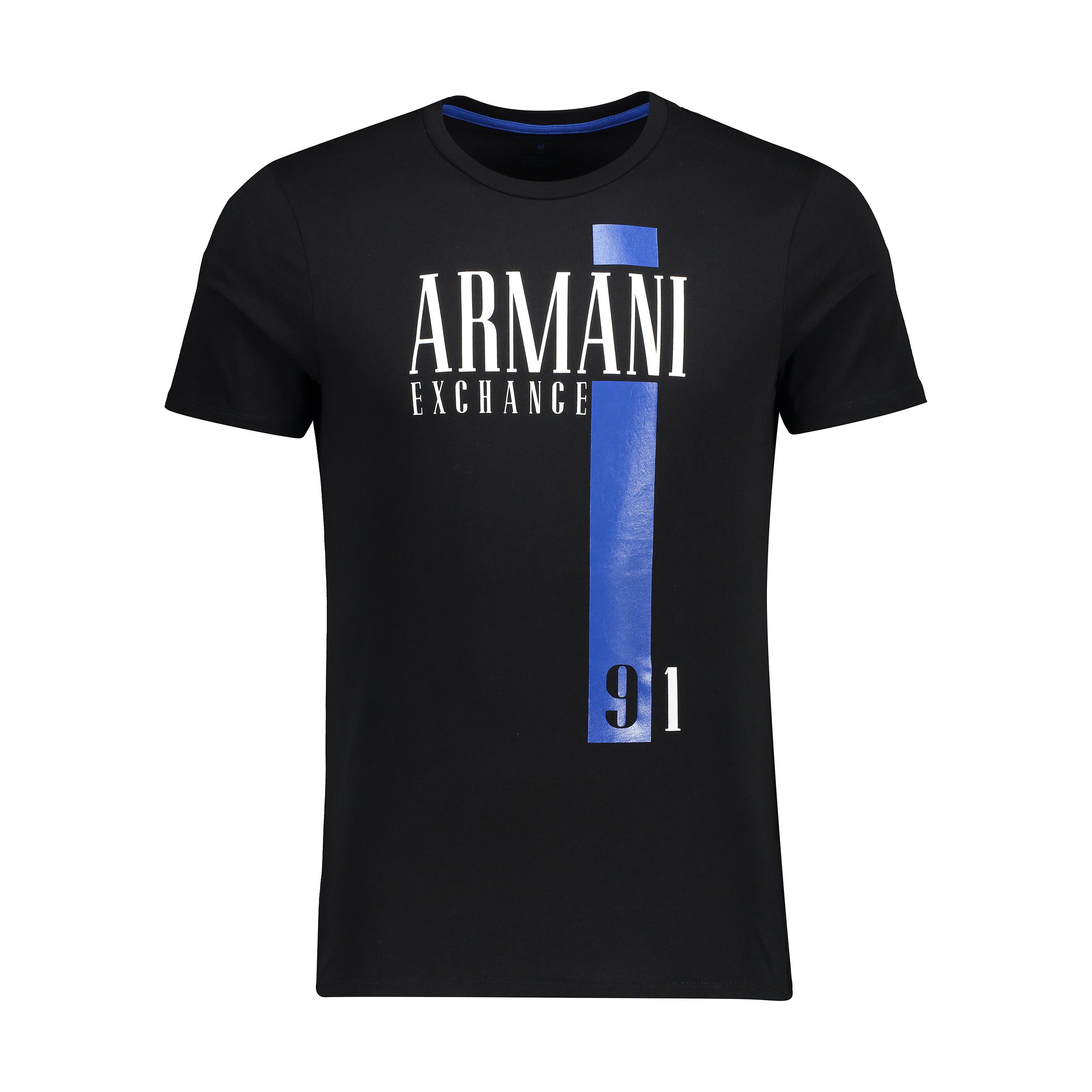 تی شرت مردانه آرمانی اکسچنج مدل 3ZZTERZJD3Z-1200