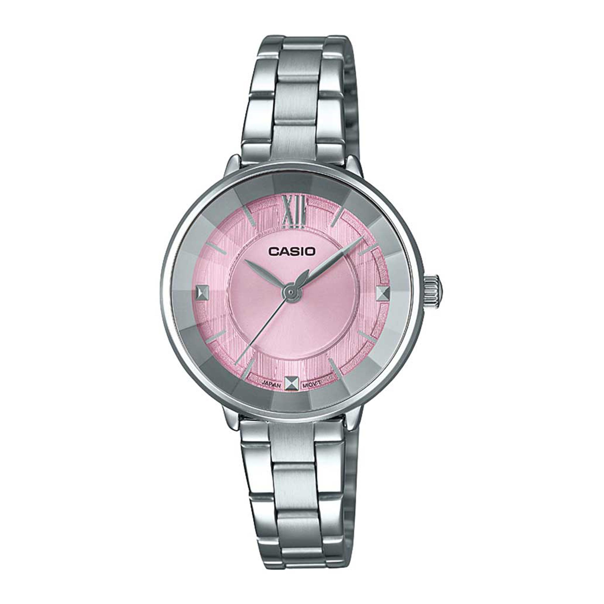 ساعت مچی عقربه ای زنانه کاسیو مدل LTP-E163D-4ADF              ارزان