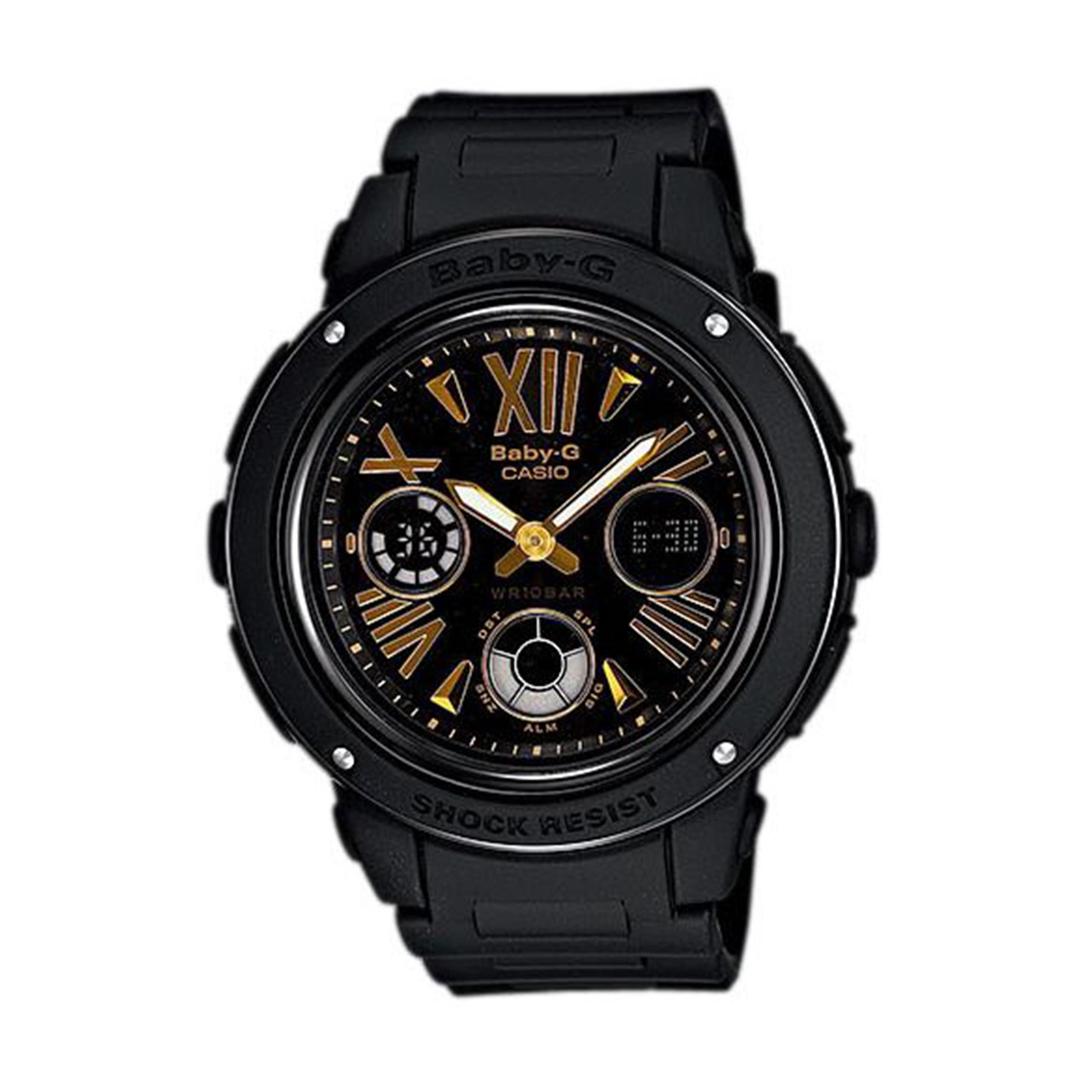 ساعت مچی عقربه ای زنانه کاسیو مدل BGA-153-1BDR              ارزان