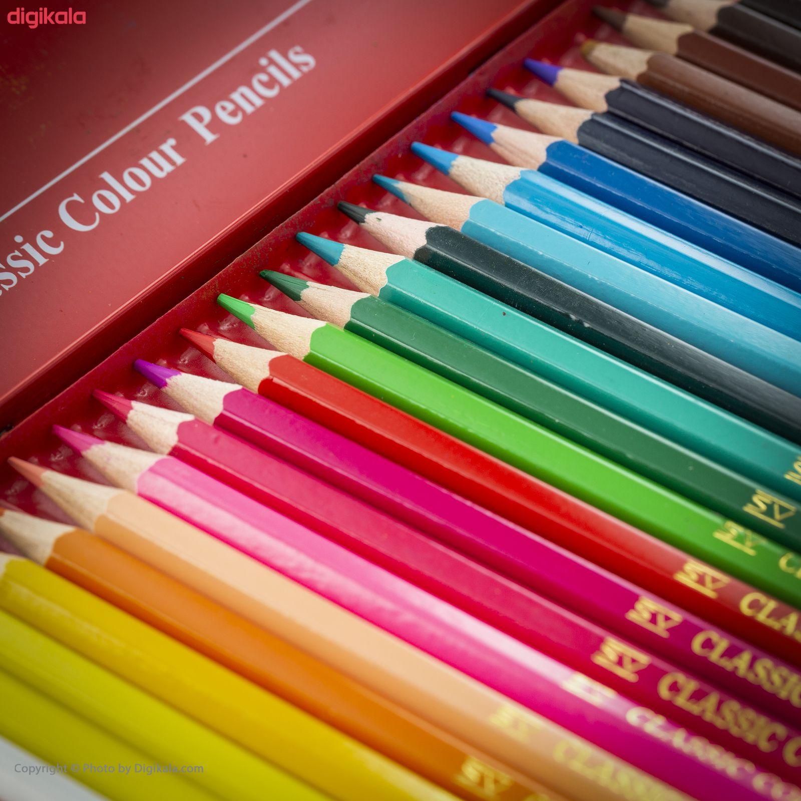 مداد رنگی 24 رنگ فابر-کاستل مدل Classic main 1 11