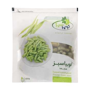 لوبیا سبز برش خورده نوبر سبز مقدار 400 گرم