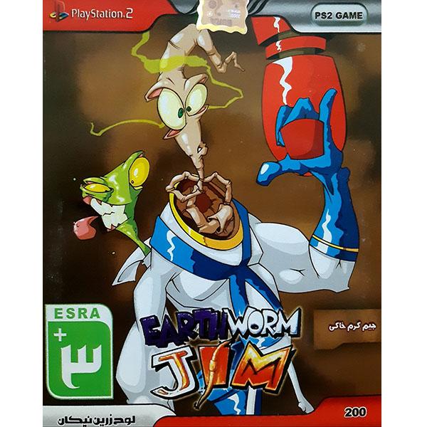 خرید اینترنتی بازی جیم کرم خاکی مخصوص PS2 اورجینال