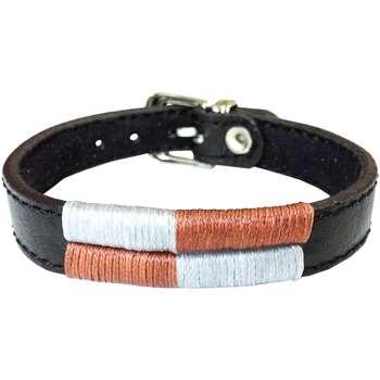 دستبند چرم وارک مدل آرت کد rb101