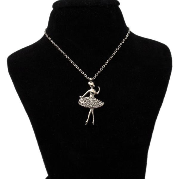 گردنبند نقره زنانه طرح فرشته کد 207